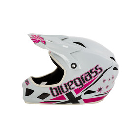 bluegrass Brave Helmet jack white/pink/black